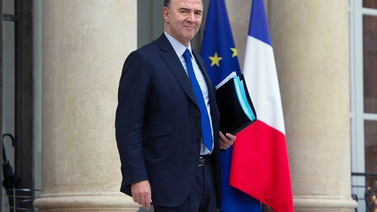 Le ministre de l'Economie et des Finances, Pierre Moscovici,à l'Elysée (Paris), le 28 novembre 2012. (BERTRAND LANGLOIS / AFP)
