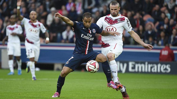 En octobre dernier, le PSG s'était imposé 3-0 face aux Girondins.  (JEAN MARIE HERVIO / DPPI MEDIA)