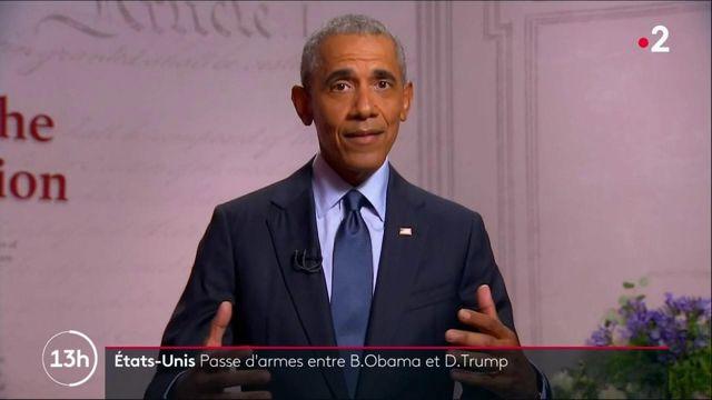 Présidentielles américaines : Barack Obama s'attaque violemment au bilan de Donald Trump