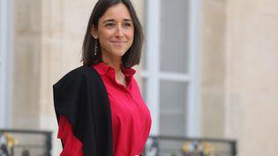 Brune Poirson, secrétaire d'État auprès du ministre de la Transition écologique et solidaire, à l'Elysée le 5 septembre 2018, à Paris. (LUDOVIC MARIN / AFP)