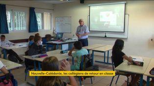 L'école a repris en Nouvelle-Calédonie (FRANCEINFO)