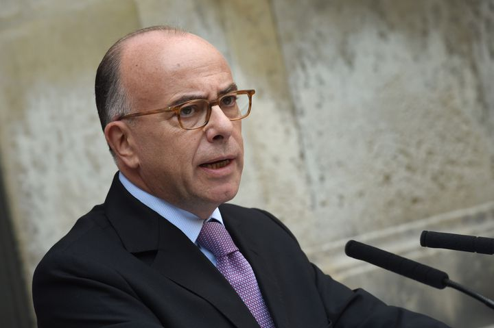 Le ministre de l'Intérieur, Bernard Cazeneuve, le 7 septembre 2015 à Paris. (LOIC VENANCE / AFP)