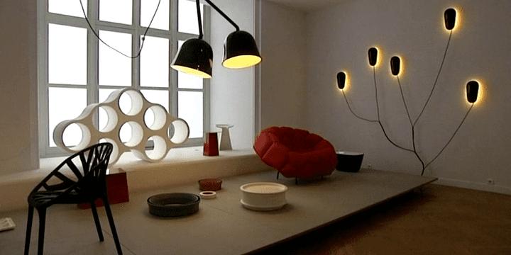 Vegetable Chair, lampes conques, fauteuil Quilt les créations des Bouroullec font référence dans le monde entier  (France3 / Culturebox)