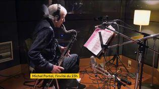 Le musicien Michel Portal. (France 2)