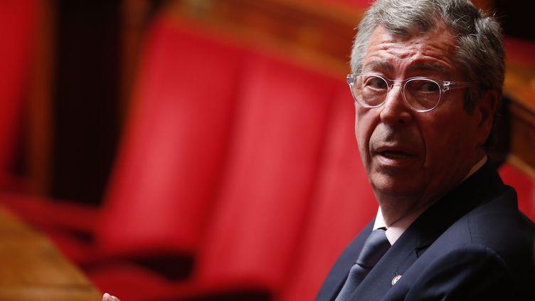 Patrick Balkany, le 25 mai 2016, à l'Assemblée nationale. (PATRICK KOVARIK / AFP)