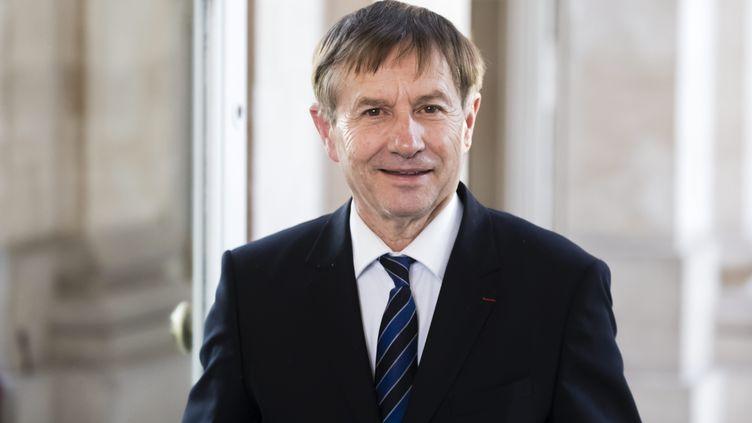 Joaquim Pueyo, maire d'Alençon et ancien directeur des prisons de Fleury-Mérogis et de Fresnes le 12 novembre 2019 à l'Assemblée nationale. (VINCENT ISORE / MAXPPP)