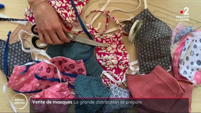 Déconfinement : la vente de masques s'organise