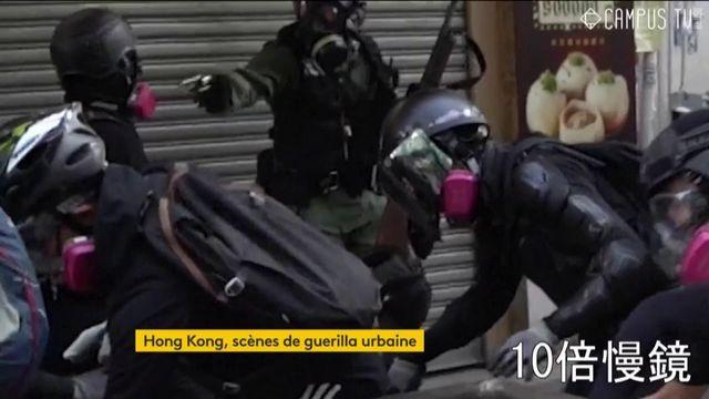 Chine : la guérilla urbaine à Hong Kong gâche la fête du régime