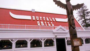 Un restaurant Buffalo Grill à Nantes. (GAMMA-RAPHO)