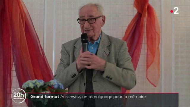 Histoire : le témoignage d'un rescapé d'Auschwitz pour la mémoire