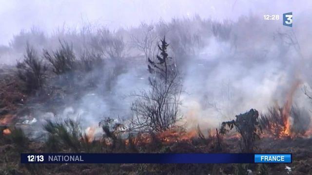 Incendies en Ariège : la sécheresse complique la tâche des pompiers