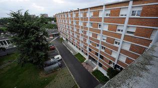 La résidence universitaire Albert-Chatelet à Lille (Nord), le 15 juillet 2014. (MAXPPP)