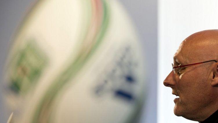 Bernard Laporte (ADRIAN DENNIS / AFP)