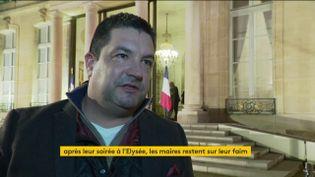 Jérôme Malus, maire dans la Nièvre (FRANCEINFO)