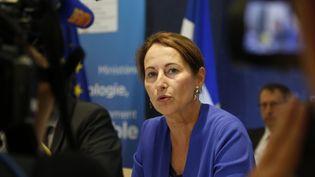 Ségolène Royal, le 17 juillet 2015 lors d'une conférence de presse à Paris. (FRANCOIS GUILLOT / AFP)