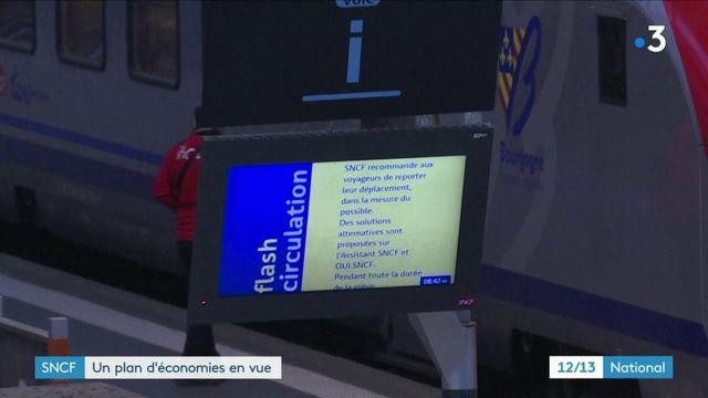 Grève des transports : la SNCF annonce une perte d'un milliard d'euros et un plan d'économies