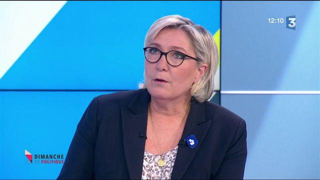 Dimanche en politique : Marine Le Pen réclame une loi pour lutter contre le fondamentalisme islamiste