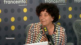 Frédérique Vidal, ministre de l'Enseignement supérieur, de la Recherche et de l'Innovation, invitée sur franceinfo mercredi 5 juin 2019. (RADIO FRANCE / FRANCEINFO)