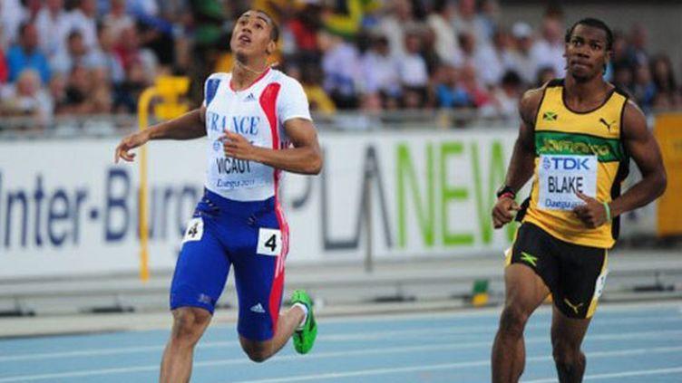 Le jeune français Jimmy Vicaut décroche son sésame pour la finale du 100m