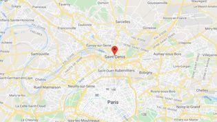 Saint-Denis (Seine-Saint-Denis). (CAPTURE D'ÉCRAN / GOOGLE MAPS)