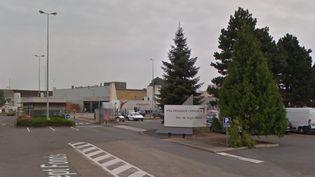Le site de PSA de Sept-Fons, dans l'Allier. (GOOGLE STREET VIEW)
