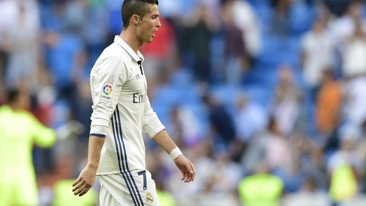Cristiano Ronaldo, dans l'oeil du cyclone (JAVIER SORIANO / AFP)