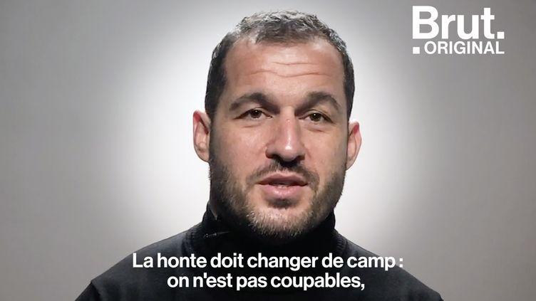 """VIDEO. """"La honte doit changer de camp"""" : violé jusqu'à ses 16 ans, Sébastien Boueilh raconte son histoire (BRUT)"""