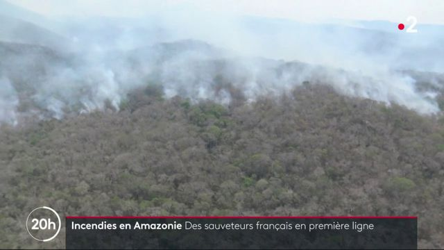 Incendies en Amazonie : des secouristes français en renfort