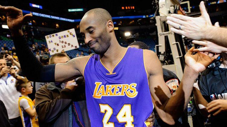 Kobe Bryant Lakers devient le 3e meilleur marqueur de l'histoire de la NBA devant Michael Jordan (HANNAH FOSLIEN / GETTY IMAGES NORTH AMERICA)