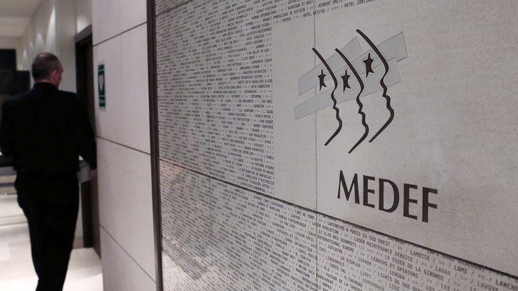 Le siège parisien du Medef (11 janvier 2013)  (Jacques Demarthon / AFP)