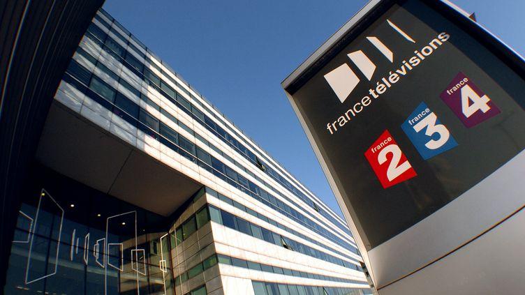 Le siège de France Télévisions, à Paris, le 18 février 2008. (JEAN AYISSI / AFP)
