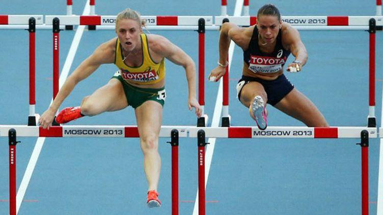 Sally Pearson et Cindy Billaud en série du 100m haies