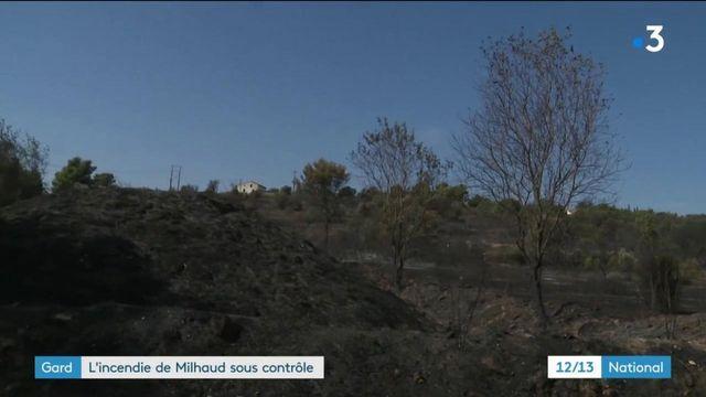 Gard : l'incendie de Milhaud sous contrôle
