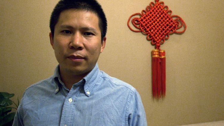 Xu Zhiyong, ici à Pékin, le 30 septembre 2010. (JUAN ANTONIO SERRANO / EFE)