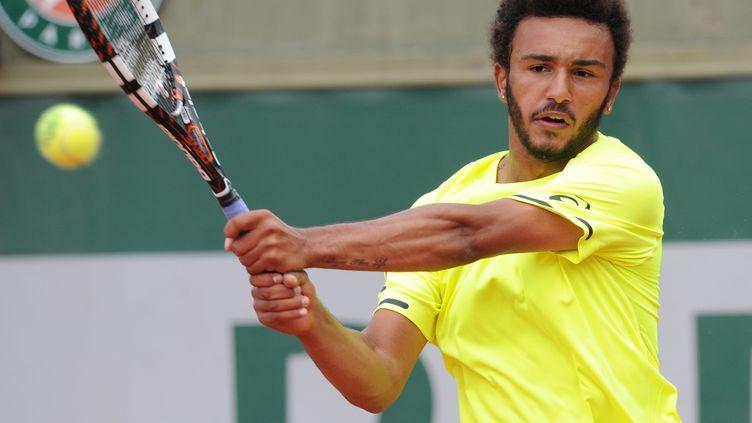 Le Français Maxime Hamou à Roland-Garros (PHILIPPE LECOEUR / MAXPPP)