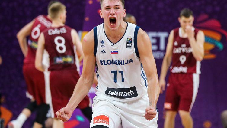 Le Slovène Luka Doncic, future star de NBA à seulement 18 ans. (SALIH ZEKI FAZLIOGLU / ANADOLU AGENCY)