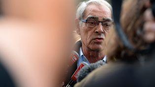 Henri Emmanuelli, le 30 août 2014. (JEAN-PIERRE MULLER / AFP)