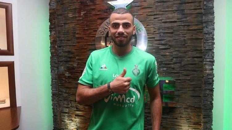 Oussama Tannane, qui a signé pour quatre ans et demi en faveur des Verts, est la deuxième recrue hivernale du club ligérien.