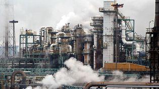 Pour réaliser cette enquête, il a fallu localiser précisément chaque industrie dangereuse, comme l'usine de Saint-Avold, en Moselle. (PIERRE ANDRIEU / AFP)