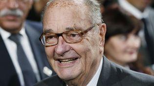 L'ancien président Jacques Chirac. (PATRICK KOVARIK / POOL)