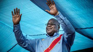 Félix Tshisekedi, proclamé élu président de la RDC dans la nuit du 10 janvier 2018 (LUIS TATO / AFP)