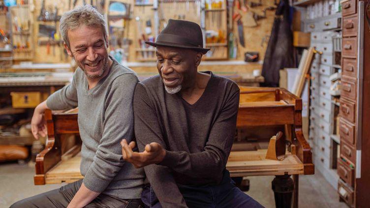 Laurent de Wilde et Ray Lema, deux pianistes en osmose  (Olivier Hoffschir)
