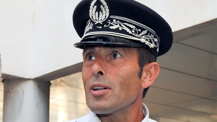 Jean-François Illy, le 16 août 2012, alors qu'il étaitdirecteur départemental adjoint de la sécurité publique des Bouches-du-Rhône (GERARD JULIEN / AFP)