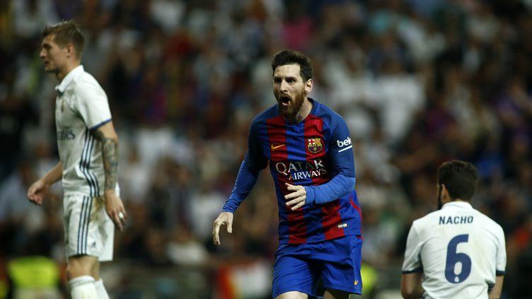 Messi offre la victoire au Barça face au Real dans les dernières secondes (OSCAR DEL POZO / AFP)