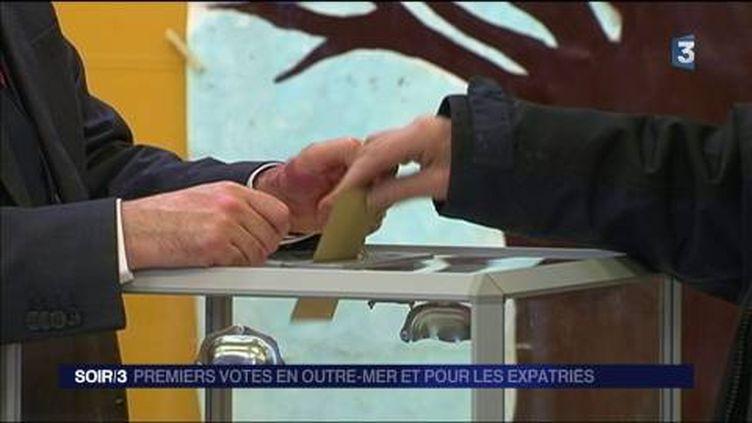 Les Français de l'étranger ont commencé à voter. (FRANCE 3)