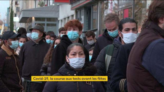 Coronavirus : la course aux tests avant les fêtes de fin d'année est lancée