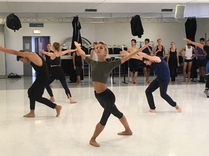Claire Longchampt, danseuse du CCN Malandain Ballet Biarritz (Valérie Gaget)