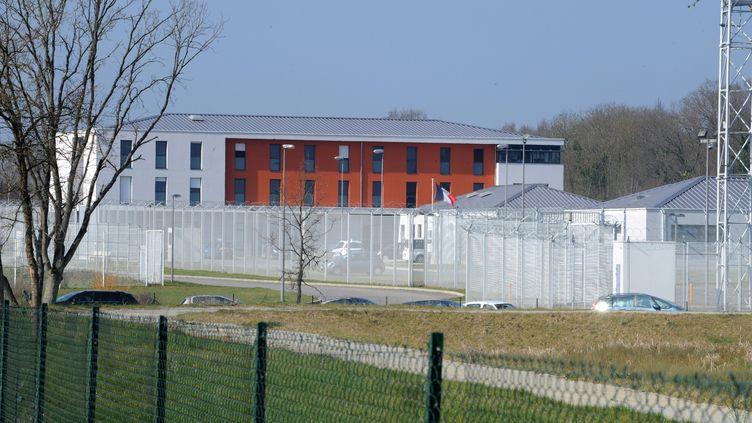 Le Centre de rétention administrative (CRA) de Rennes (Ille-de-Vilaine), le 15 mars 2012. (FRANK PERRY / AFP)