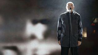 Peter Gabriel, à Berlin, le 9 novembre 2014  (Michael Sohn/AP/SIPA)