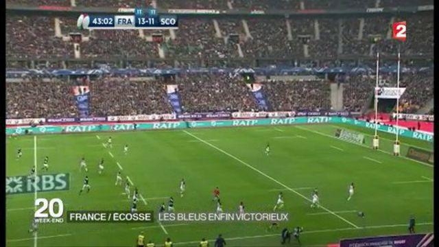 France-Écosse  : les Bleus enfin victorieux